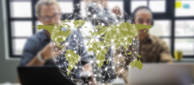 Internet, Globus, Vernetzung