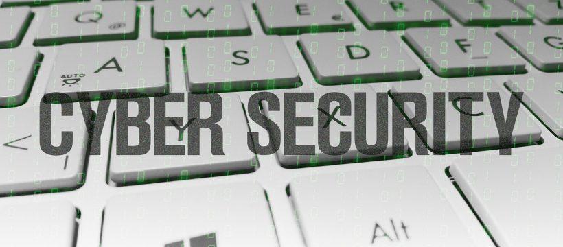 die Grafik illustriert den begriff cyber security